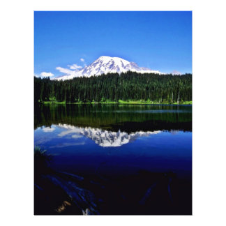 "Mt. Rainier National Park 8.5"" X 11"" Flyer"