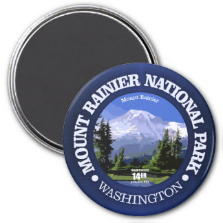 Mt Rainier NP Magnet