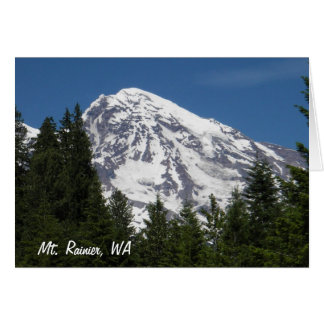 Mt. Rainier Paradise Greeting Card