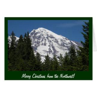 Mt Rainier Park Christmas Card