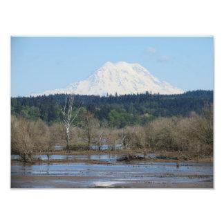 Mt Rainier Photo Print