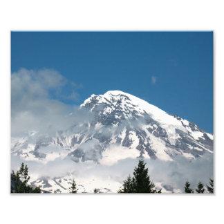 Mt Rainier Art Photo