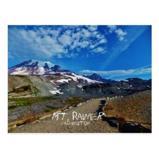 Mt. Rainier Postcard