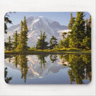 Mt. Rainier reflected in a tarn near Plummer Peak Mouse Pad
