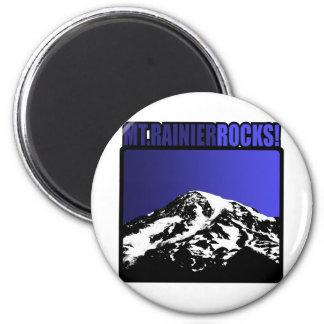 Mt. Rainier Rocks! Magnet