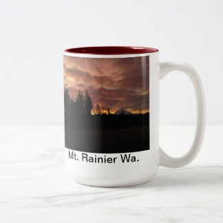 Mt. Rainier Sunrise Mug