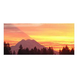 Mt. Rainier Sunrise Rack Card
