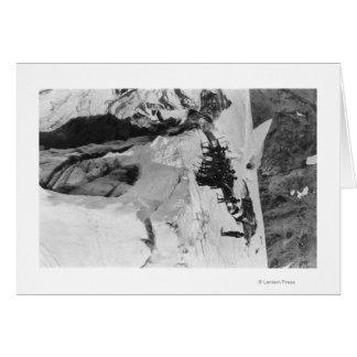 Mt. Rainier, WA Nisqually Glacier Climbers Card