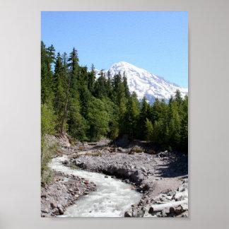 Mt Ranier Poster