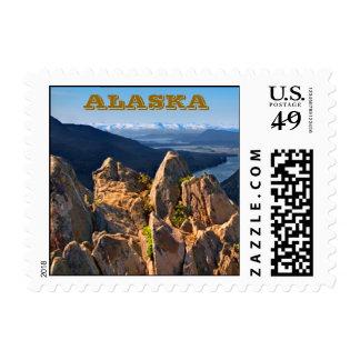 Mt Roberts Overlook-Juneau, Alaska Stamps