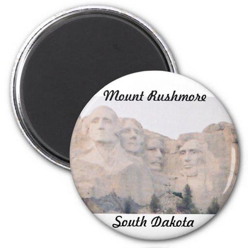 Mt. Rushmore 2 Inch Round Magnet