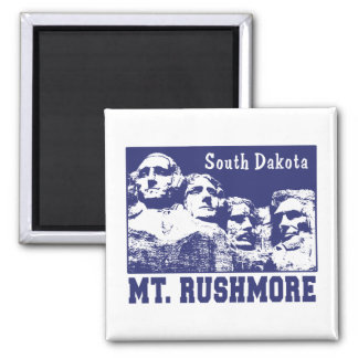 Mt. Rushmore 2 Inch Square Magnet