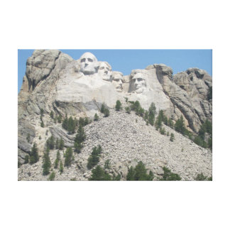 Mt. Rushmore At A Distance Canvas Print