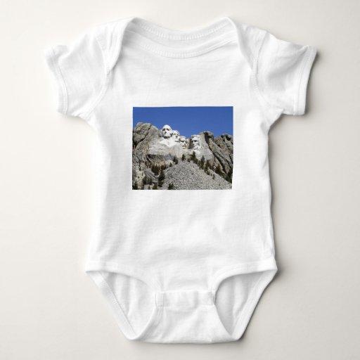 Mt Rushmore Baby Bodysuit