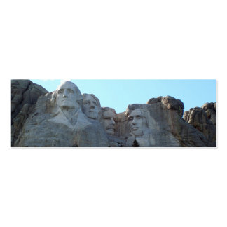 Mt Rushmore Double-Sided Mini Business Cards (Pack Of 20)