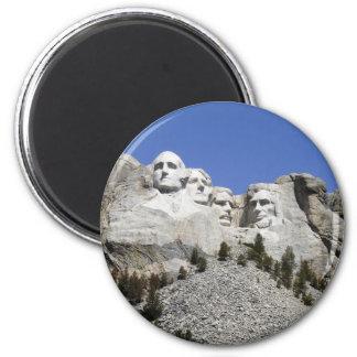 Mt Rushmore Imán Redondo 5 Cm