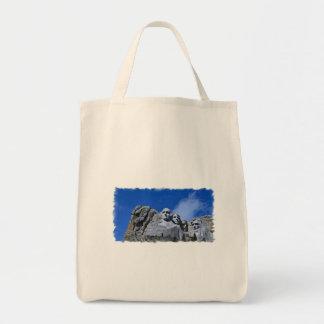 Mt. Rushmore Landmark Grocery Tote Bag