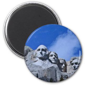 Mt. Rushmore Landmark Magnet