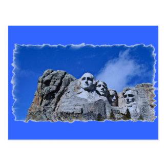 Mt. Rushmore Landmark Postcard
