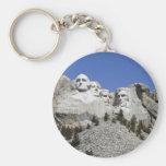 Mt Rushmore Llavero Redondo Tipo Pin
