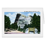 Mt. Rushmore Memorial, South Dakota Card