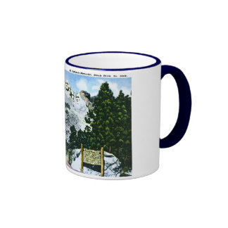 Mt. Rushmore Memorial, South Dakota Coffee Mugs