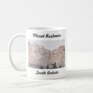 Mt. Rushmore Classic White Coffee Mug