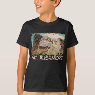 Mt. Rushmore Painted Kid's Shirt