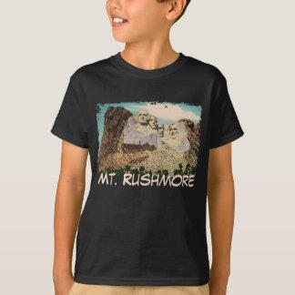 Mt. Rushmore Painted Kid's Shirt