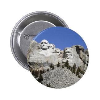 Mt Rushmore Pinback Button