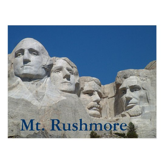 Mt. Rushmore Postcard