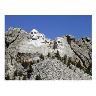 Mt Rushmore Postcard