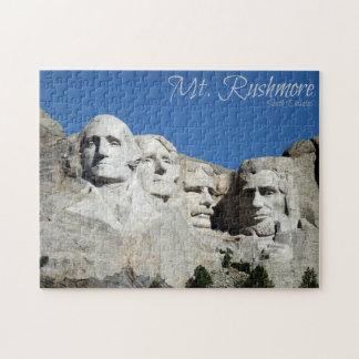 Mt. Rushmore Puzzle