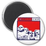 Mt. Rushmore Rocks! Magnet