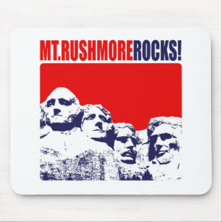 Mt. Rushmore Rocks! Mouse Pad