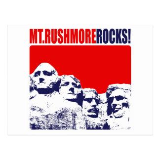 Mt. Rushmore Rocks! Postcard