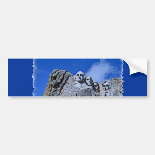 Mt. Rushmore SD Landmark Bumper Stickers