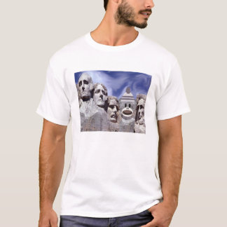 Mt Rushmore Sock Monkey T-Shirt