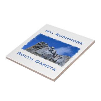 Mt. Rushmore South Dakota National Memorial Photo Small Square Tile