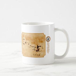 Mt Rushmore Tan - Thomas Jefferson Coffee Mug
