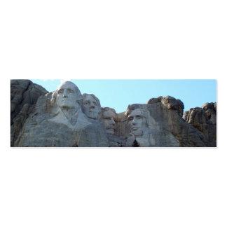 Mt Rushmore Tarjetas De Visita Mini