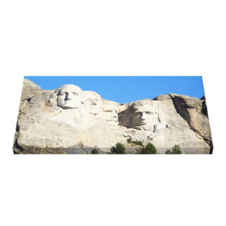 Mt.Rushmore Wrapped Canvas. Canvas Print