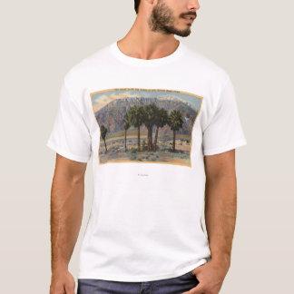 Mt. San Jacinto Angel View through Palm Trees T-Shirt