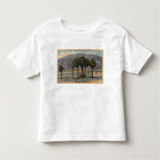 Mt. San Jacinto Angel View through Palm Trees Toddler T-shirt