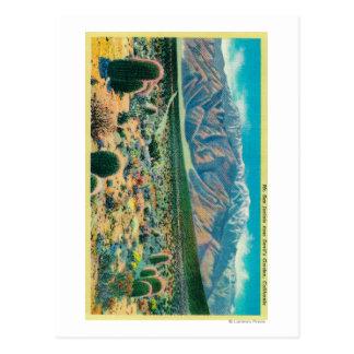 Mt. San Jacinto del jardín del diablo Postales