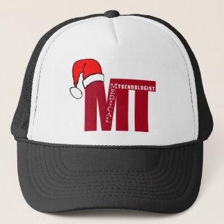 MT SANTA - CHRISTMAS MEDICAL TECHNOLOGIST - LAB TRUCKER HAT