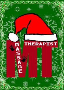 60% Off Massage Therapist Christmas Cards – Shop Now to Save | Zazzle