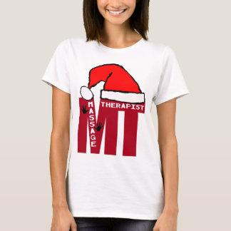 MT SANTA - MASSAGE THERAPIST CHRISTMAS SANTA T-Shirt