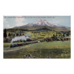 Mt. Shasta and Southern Pacific Rail Posters