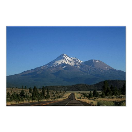 Mt. Shasta California - volcán Posters